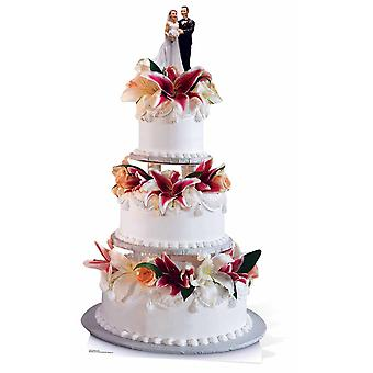 Glamorous Wedding Cake Giant Cardboard Cutout / Standee / Stand Up