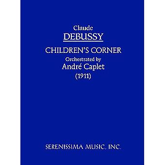 Childrens Corner  Orchestra Version Study score by Debussy & Claude