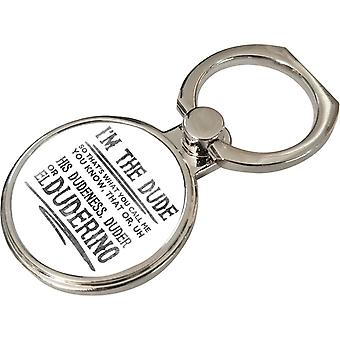 The Big Lebowski Dude Quote Phone Ring