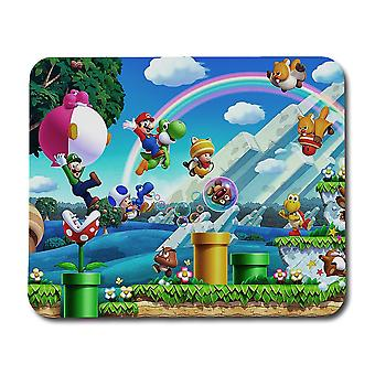Super Mario Bros U Mouse Pad