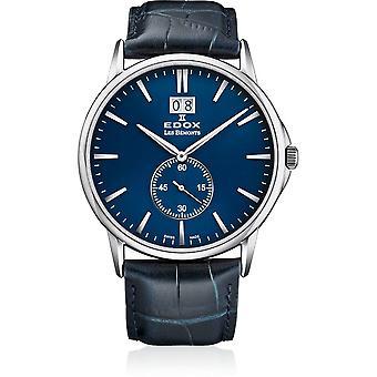 Edox - Wristwatch - Men - Les Bémonts - Big Date - 64012 3 BUIN