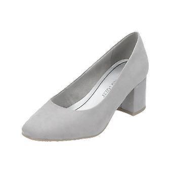 Marco Tozzi Da. Pumps Women's Pumps Grey High Heels Stilettos Heel Shoes