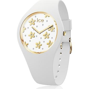 Ice Watch Armbanduhr Unisex ICE flower Precious white Medium 016667
