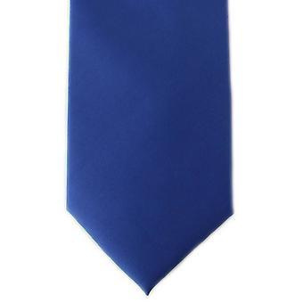 Michelsons av London oformaterad Ployester Tie - Royal Blue