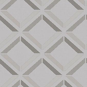 Kaleidoscope Lana Geo Wallpaper Grey Holden 90593