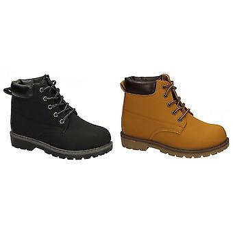 JCDees Boys Padded Collar Ankle Boots