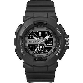 Tw5M22500, Thumbnail Timex Men'S Tw5M22500 Hq Dgtl Sporty Combo Black/Negative Resin Strap Watch - N/A
