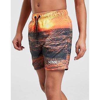 New Sonneti Boys' Setter Swim Shorts Orange