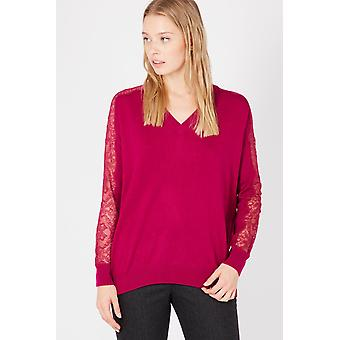 Twinset Red Sweater TW852874-XS