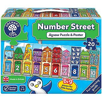 Orchard Toys Nummer Street Jigsaw Puzzle