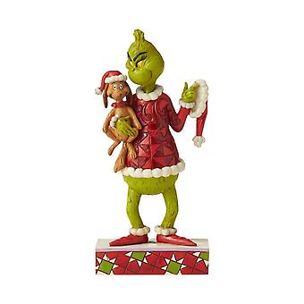 Dr. Seuss The Grinch with Max Collectors Figurine