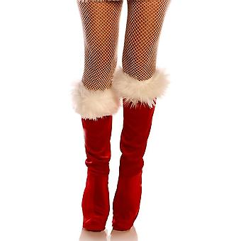 Christmas Boot Top Covers Adul