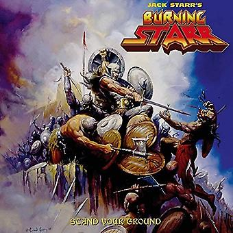 Starr, Jack / Burning Starr - Stand Your Ground [CD] USA import
