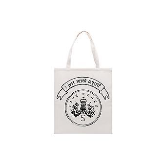 Articles cadeaux CGB Totes Amaze j'ai juste sauvé moi-même 5p Tote Bag