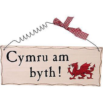 Algo diferente Cymru Am Byth Galês sinal de suspensão