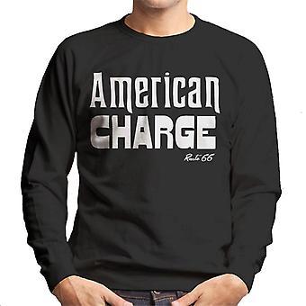Route 66 American Charge-sweatshirt til mænd
