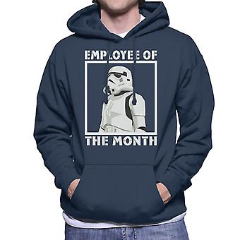 Star Wars Stormtrooper Employé du mois Men-apos;s Sweatshirt à capuchon