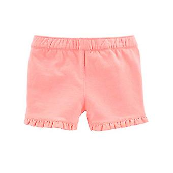 Simple Joys by Carter's Baby Girls' Toddler 3-Pack Knit Shorts, Pink.Gray, Navy, 5T
