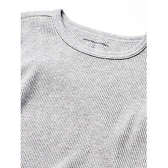 Essentials Boy's Thermal Long Underwear Set, Heather Grey, Medium