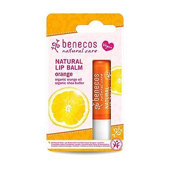 Organic Orange Lip Balm 1 unit (Orange)