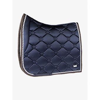 PS of Sweden Ps Of Sweden Monogram Cob Size Dressage Saddle Pad - Deep Sapphire