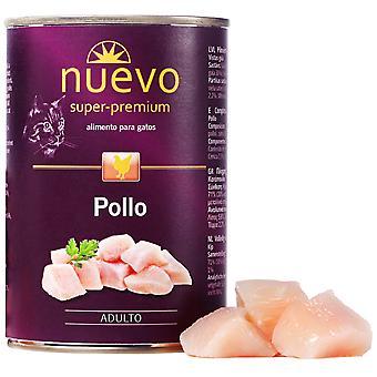 Nuevo Lata Adult Pollo (Cats , Cat Food , Wet Food)
