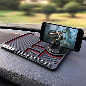 Bakeey wielofunkcyjny samochód antypoślizgowy mat auto samochód uchwyty na telefon silikon do deski rozdzielczej samochód pad mat przyrząd tabeli