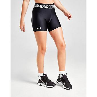 Neue Under Armour Girls' Cycle Shorts Schwarz