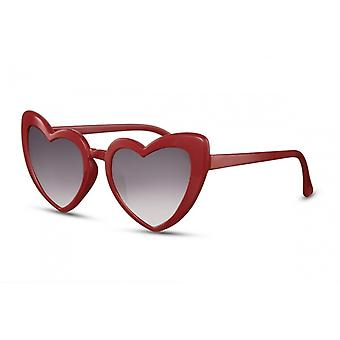 Sunglasses Ladies Kat. 3 Butterfly red/black (CWI1861)