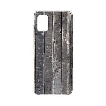 هال لسامسونج غالاكسي A71 ألواح خشبية تأثير مرنة