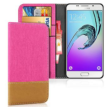 Wallet Case Case Case for Samsung Galaxy A3 (2016) Shockproof Jeans Phone TPU