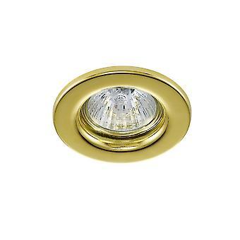GU10 Fisso Downlight Oro (Bulb non incluso)