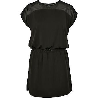Urban Classics Kvinders Shirt Dress Tech Mesh Modal