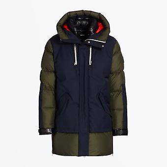 Mackage  - Simon - Hooded Panelled Coat - Green