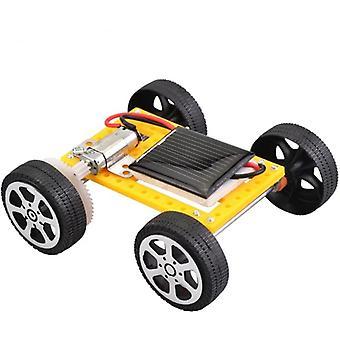 Mini Powered Diy Zonneauto Speelgoed voor educatieve gadget
