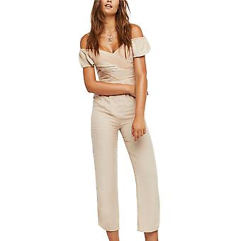 Free People | In The Moment Off-The-Shoulder Jumpsuit