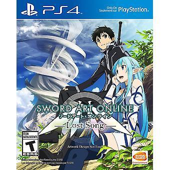 Sword Art Online 3 Lost Song PS4 Jeu