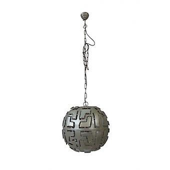 Hanglamp 50cm Vintage Nickel