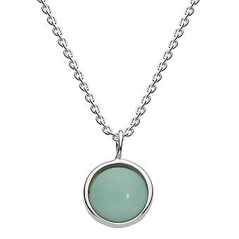 Dew Sterling Silver Amazonite18 Necklace 9738AZ021