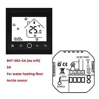 Bht-002 Series Wifi Thermostat For Water Heating Electric Gas Boiler With Alexa