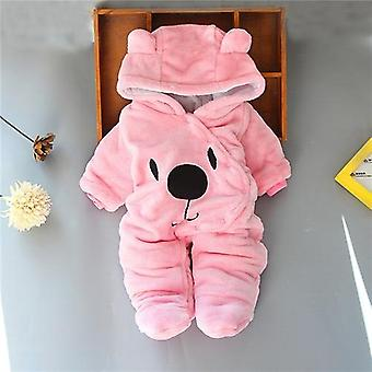 Baby Clothes Winter Thick Warm, Cartoon Bear Shape