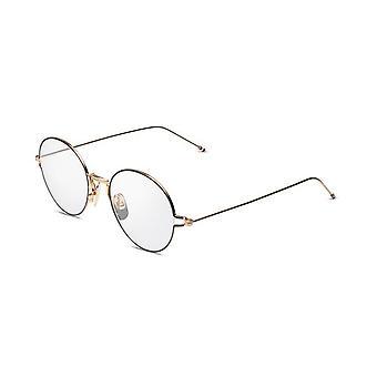 Thom Browne TBX915 02 White Gold-Black Enamel Glasses