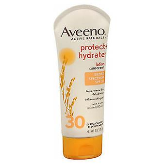 Aveeno Active Naturals Protect Plus Hydrate Lotion SPF 30، 3 أوقية