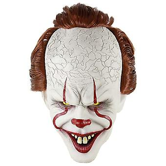 Pennywise Mask in Latex - Halloween