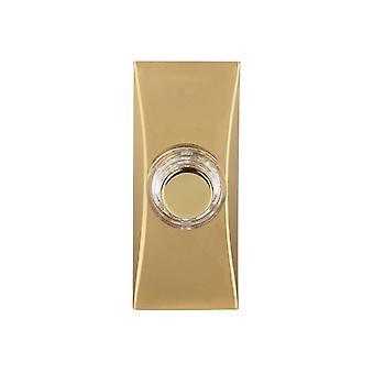 Byron 7960B Wired Bell Push Brass BYR7960B