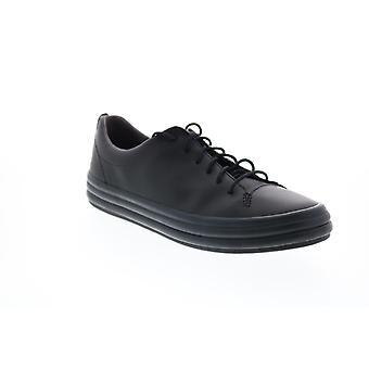 Camper Hoops Kvinders sort læder lace up Euro Sneakers sko