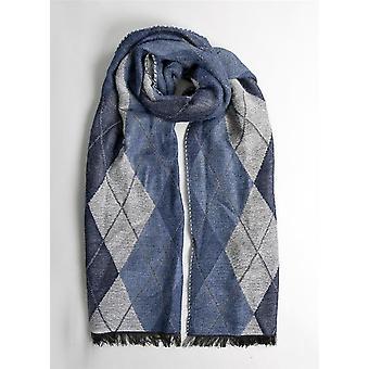 Argyle geweven sjaal