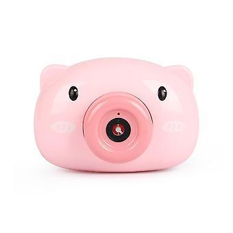 Automaattinen sarjakuva eläin suunnittelu kamera-saippua kupla maker