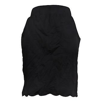ベル バイ キム グラベル ウィメンズ&アポス;s ショートパンツ ニット プル オン スコート ブラック A351262