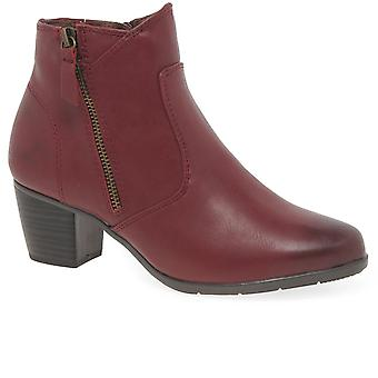 Soft Line (Jana) Gater Womens Ankle Boots